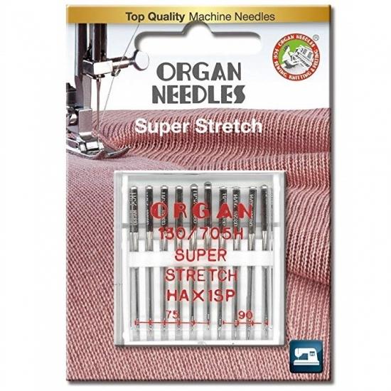 Иглы для стрейча Organ Super Stretch 75-90 10 штук