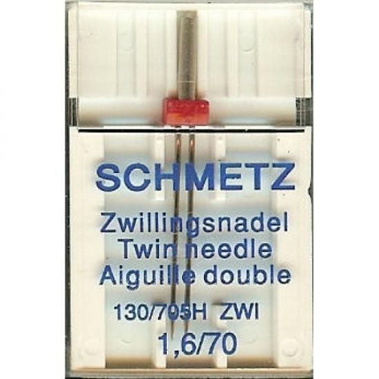 Игла двойная универсальная Schmetz Twin Universal №70/1.6