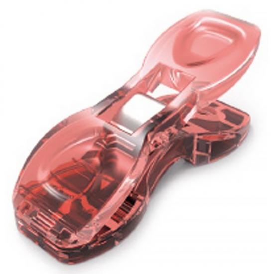 Прищепки SewMate для работы с тканями, в коробке 20 шт, розовые DW-QC03 (20)