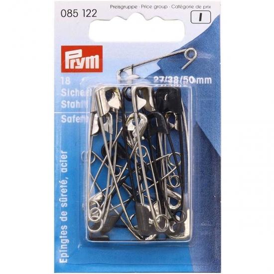 Английские булавки Prym 085122 стальные №0,2,3