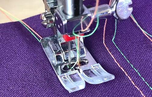 Двойные иглы для швейных машин