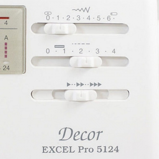 Швейная машина Janome Decor Excel Pro 5124