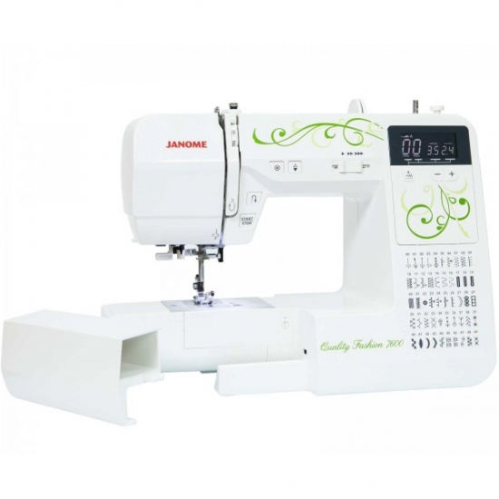 Швейная машина Janome Quality Fashion 7600