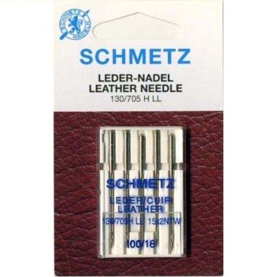 Иглы Schmetz Leather №100