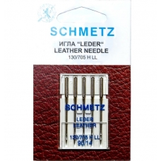 Иглы Schmetz Leather №90