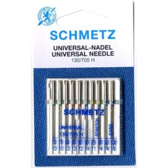Иглы Schmetz ассорти SORT XVS (10 шт.)