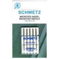 Иглы микротекс Schmetz Microtex №70 (5 шт.)