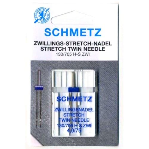 Игла двойная Schmetz Twin Stretch №75/4