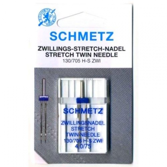 Игла двойная Schmetz Twin Stretch №75/4
