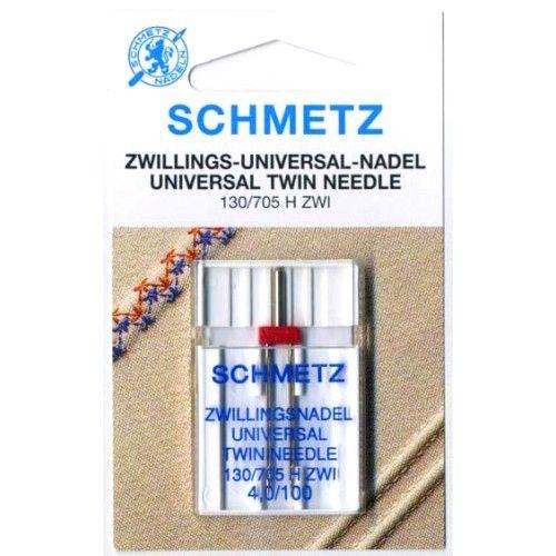 Игла двойная универсальная Schmetz Twin Universal №100/4.0