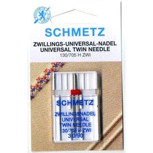 Игла двойная универсальная Schmetz Twin Universal №90/3.0