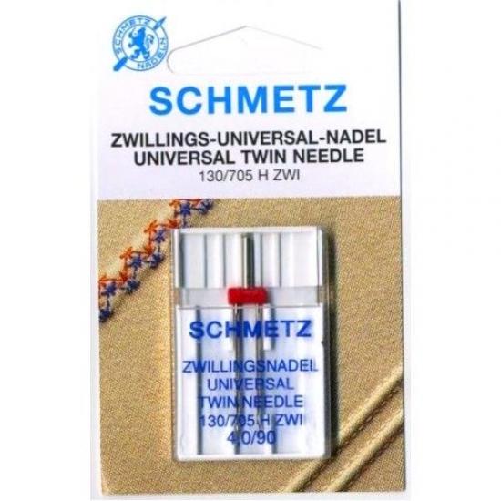 Игла двойная универсальная Schmetz Twin Universal №90/4.0