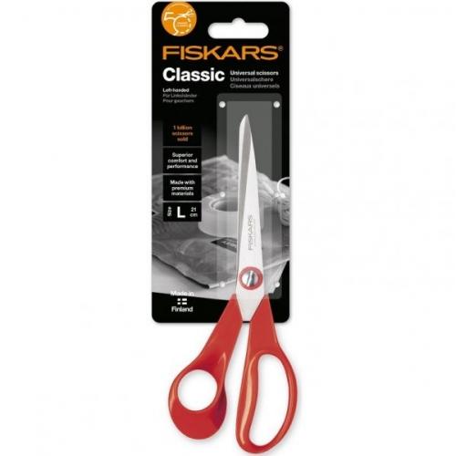 Ножницы для левши Fiskars Classic 21см 1000814