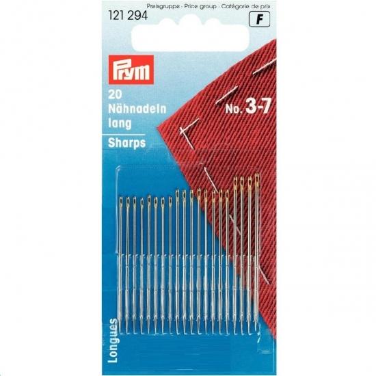 Иглы ручные для шитья №3-7 Prym 121294