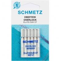 Иглы для оверлока Schmetz Overlock №80