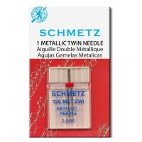 Игла двойная Schmetz Metallic Embroidery №80/2.5