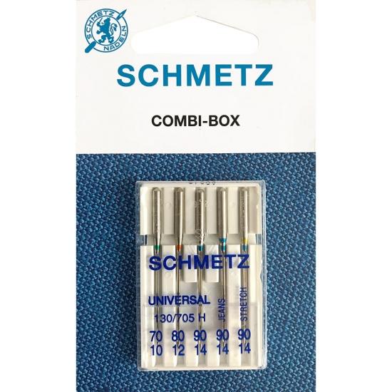 Иглы ассорти Schmetz Combi Mini SORT VVS (5 шт.)