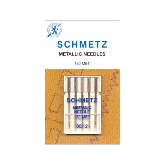 Иглы вышивальные Schmetz Metallic №80